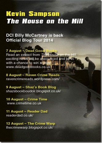 Kevin Sampson ­ blog tour