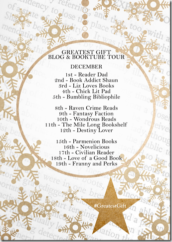 Blog tour list #GreatestGift