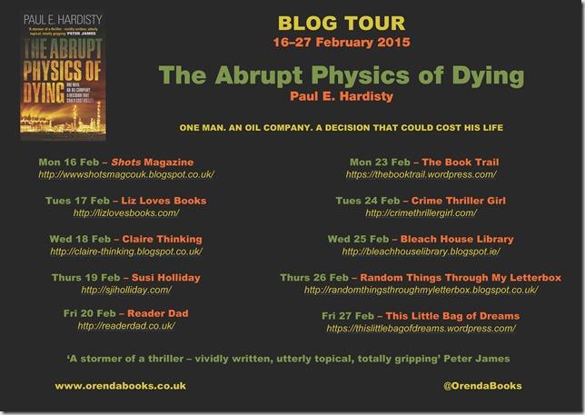 Abrupt Physics Blog Tour Banner