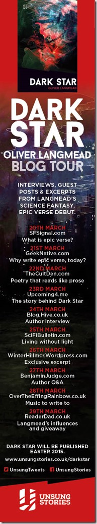 Dark Star blog tour skyscraper