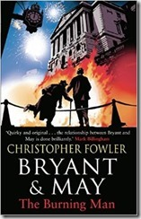 THE BURNING MAN - Christopher Fowler