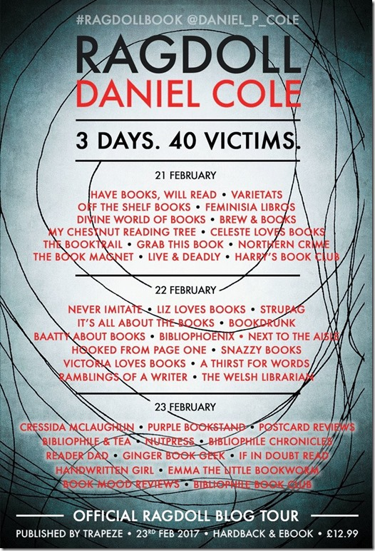 RAGDOLL Blog Tour Poster