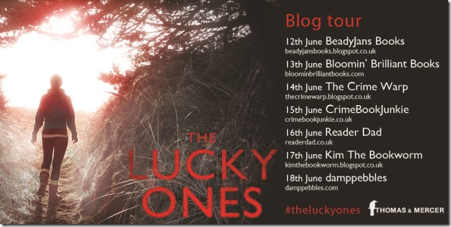 The Lucky Ones blog tour graphic