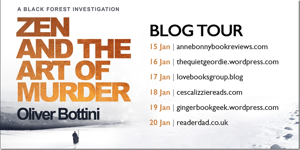 Zen and the Art of Murder - Blog Tour for Twitter
