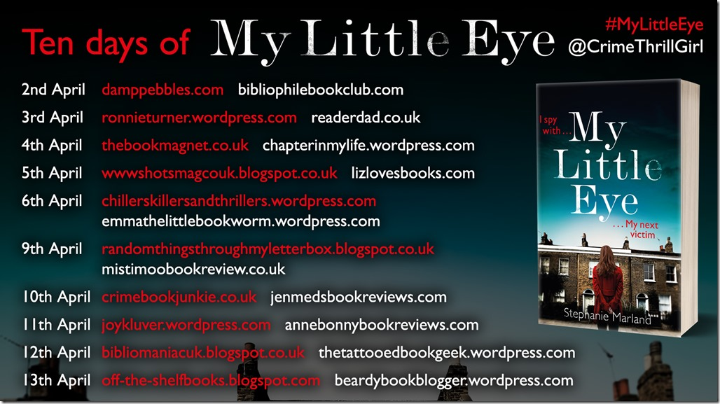 My Little Eye Blog Tour