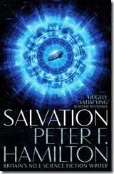 SALVATION COVER - PETER F HAMILTON