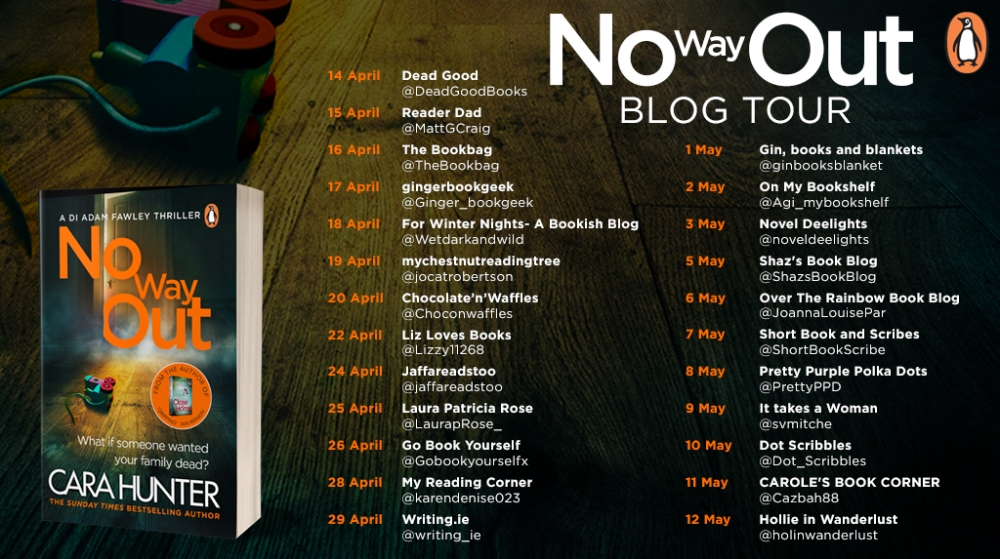 No Way Out Blog Tour Twitter